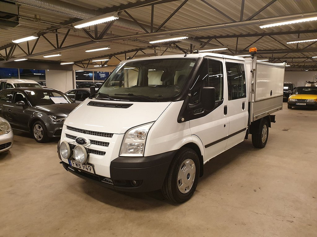 Ford Transit Chassis Double Cab 2.2 TDCi 4x4 125hk