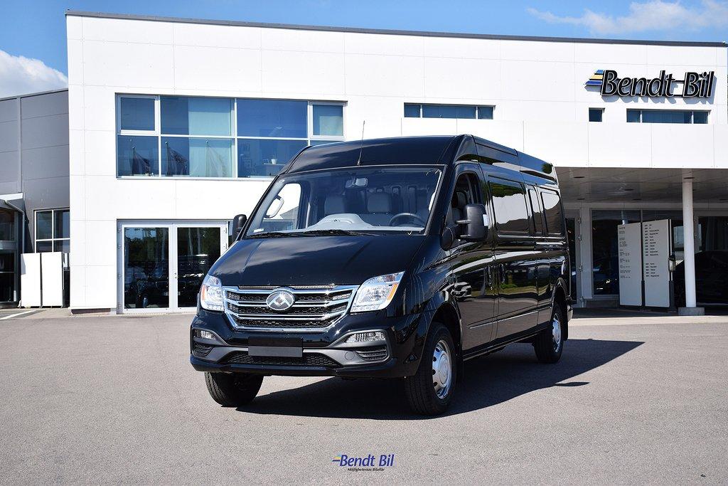 Maxus EV80 H2 10,2 m3 / 56kwH 134HK/ Hel elektrisk