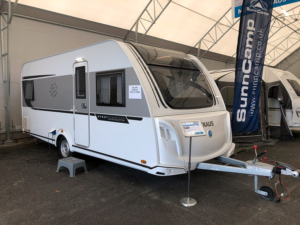 Knaus SPORT 500 UF SILVER SELECTION/ STOR KYL