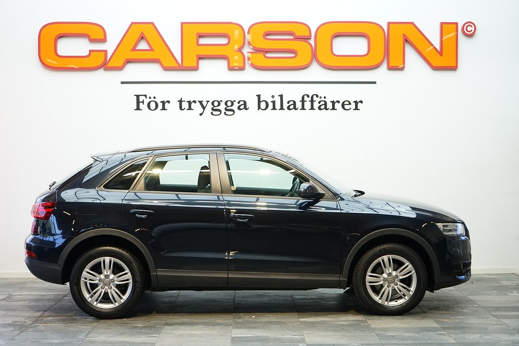 Audi Q3 2.0 TDI Q 177HK Aut Sports edition