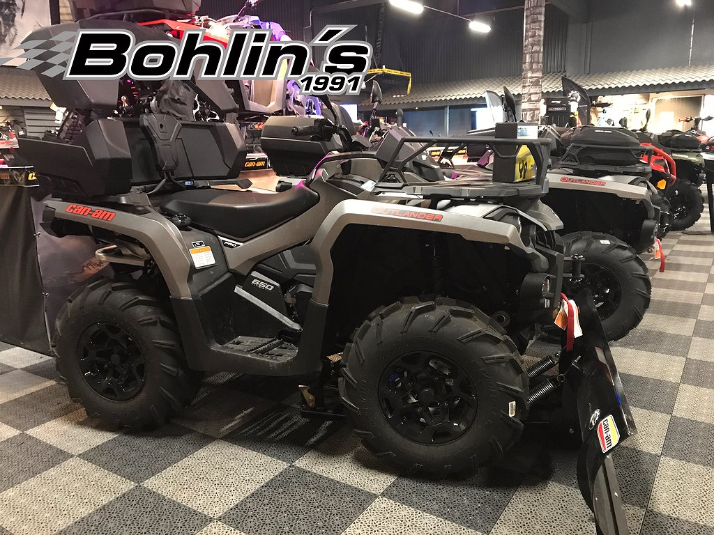 Can-Am Outlander Pro 650 T3  -18