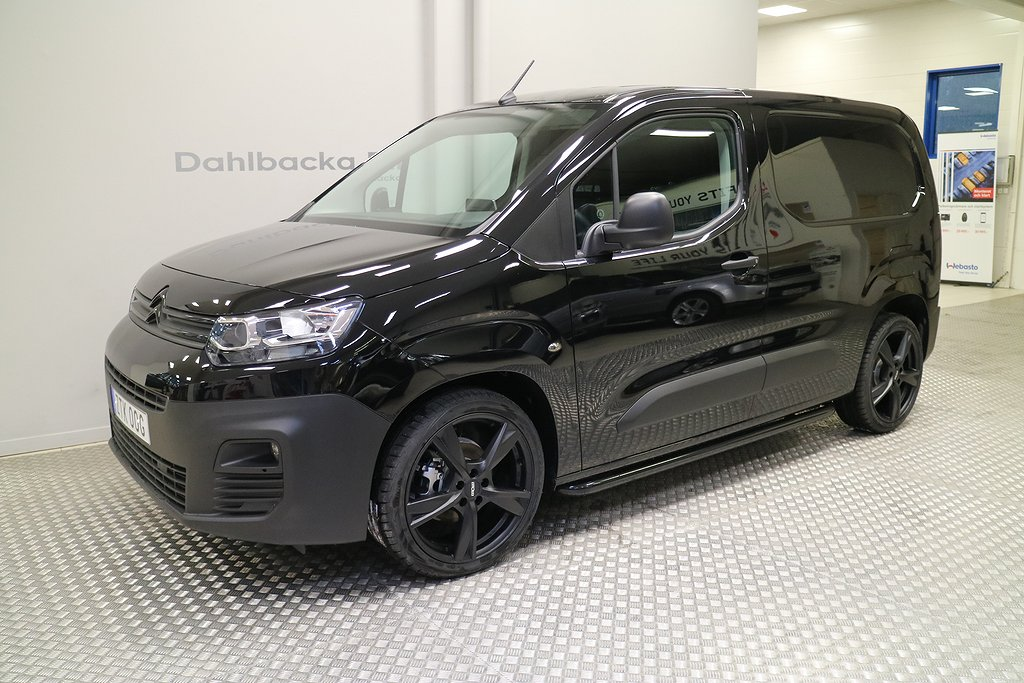 Citroën Berlingo ALL BLACK 100hk