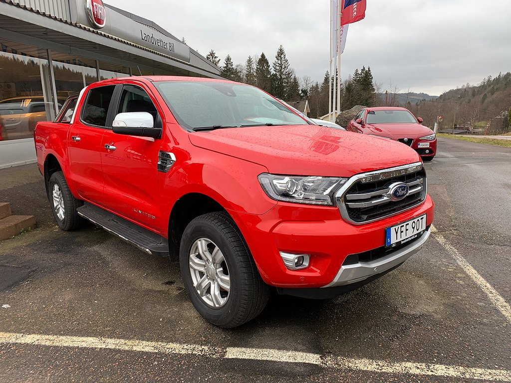 Ford Ranger Double cab Limited 2,0L Ecoblue 213hk