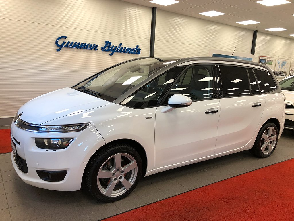 Citroën C4 Picasso 2.0 HDi EAT Euro 6 7-sits 150hk