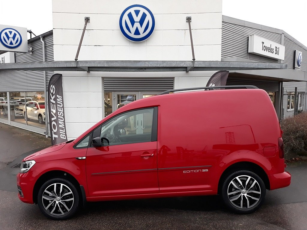 Volkswagen Caddy Skåp EDITION 35 2.0 TDI