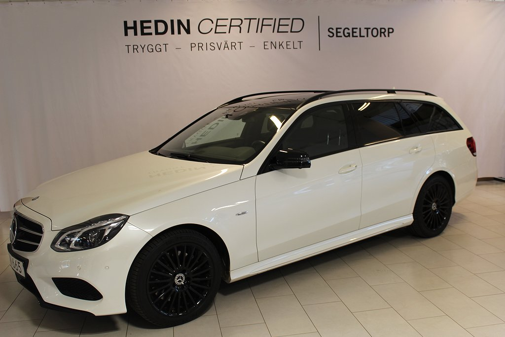Mercedes-Benz E 4MATIC AMG/Night Package S+V-Hjul