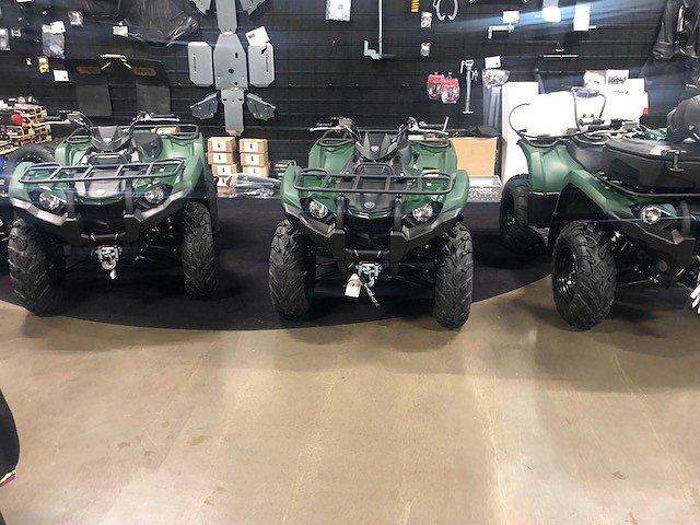 Yamaha Kodiak 450 IRS snöpaket