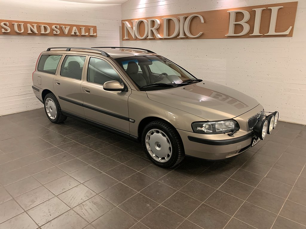 Volvo V70 2.4T Business 200hk