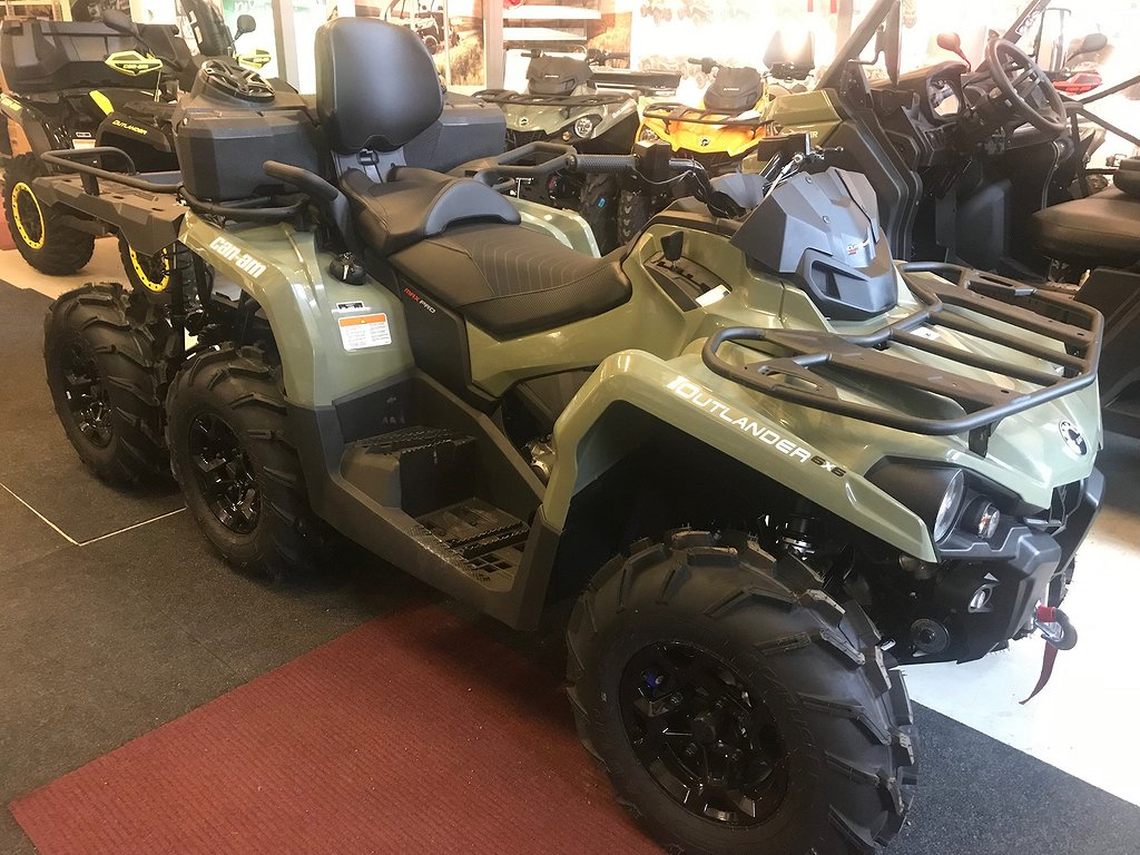 Can-Am Outlander 450 Pro+ 6x6 max