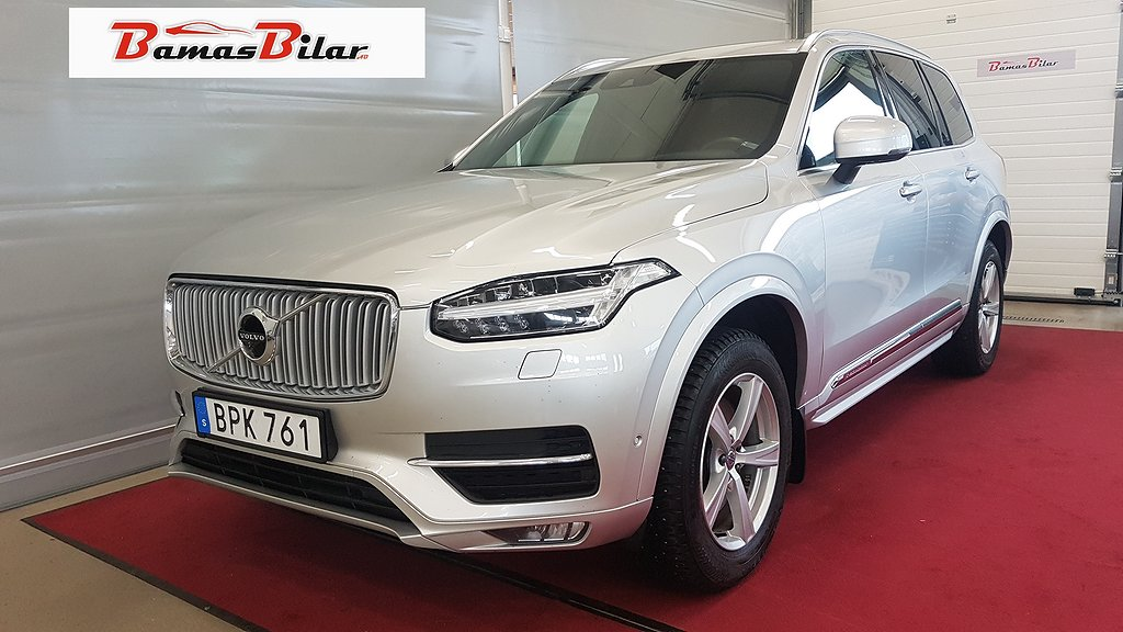 Volvo XC90 D5 AWD Geartronic Inscription Euro 6 235hk