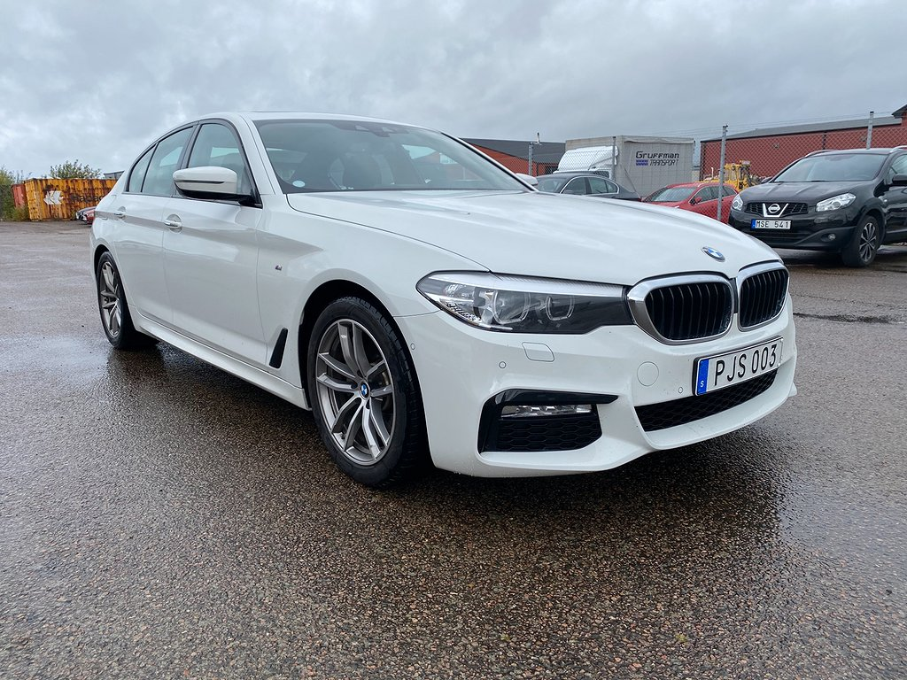 BMW 520 d Sedan M Sport Euro 6 190hk