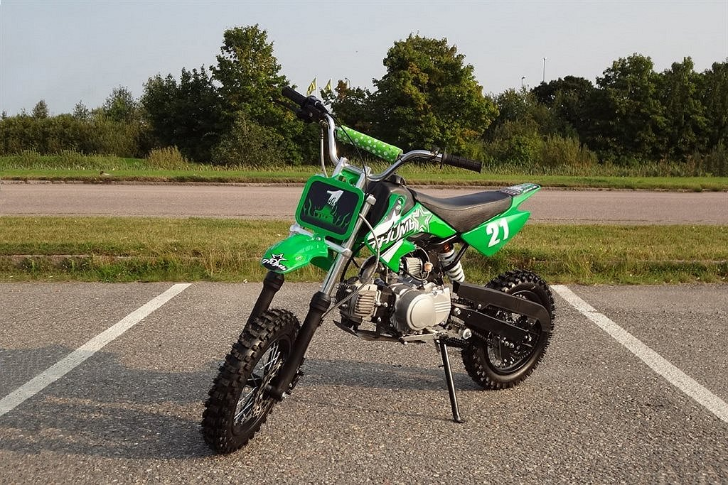 Dirtbike Barncross 110cc halvautomat X-Dirt Bike