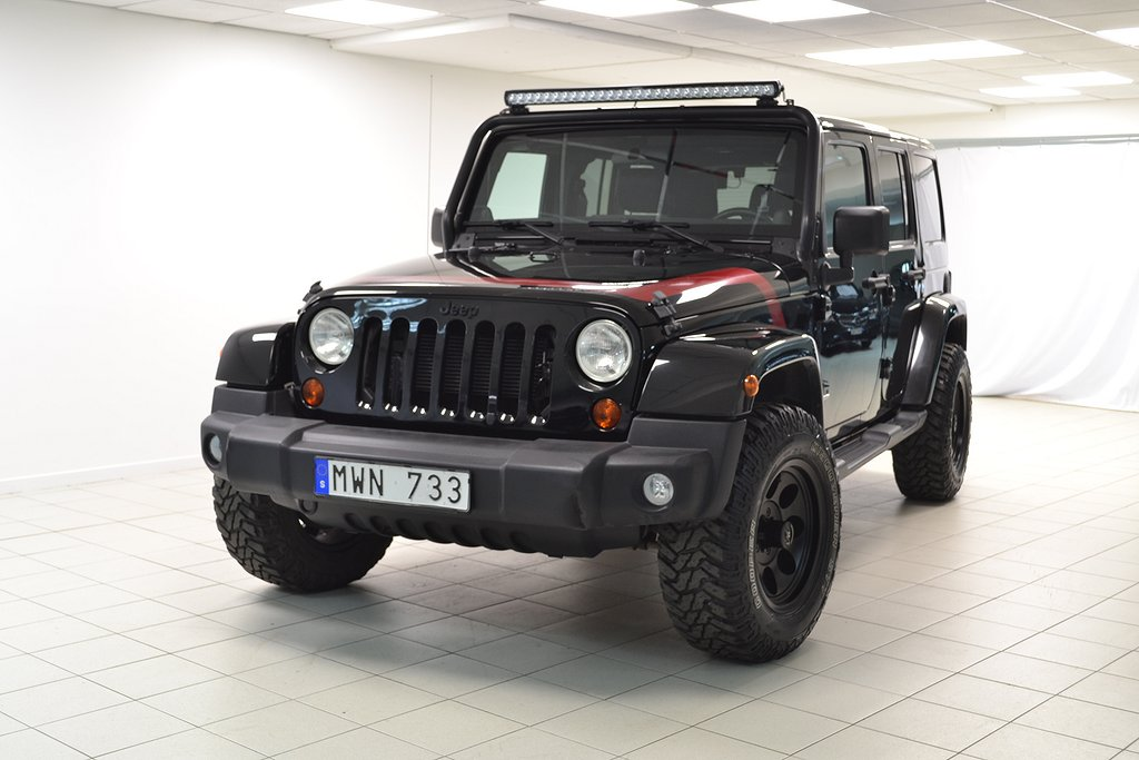 Jeep Wrangler Unlimited 3.6 V6 4WD Automat 290hk UNLIMITED