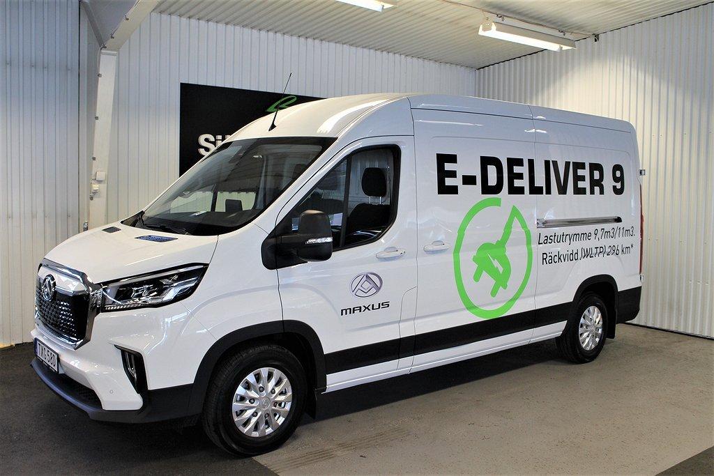 Maxus e-deliver 9 Panel Van 56 kWh 136hk