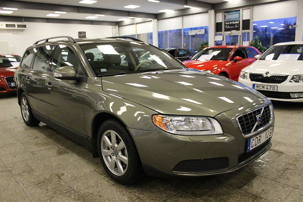 Volvo V70 2.5T Flexifuel Geartronic Kinetic 200hk nyservad