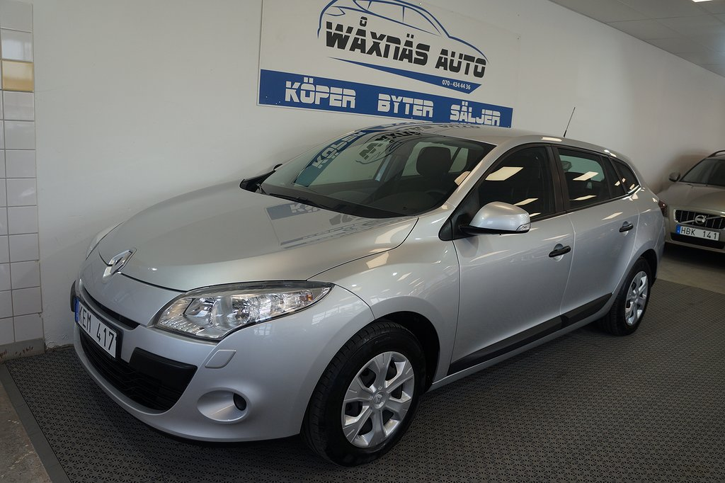 Renault Mégane Phas III 1.6 Eco2 Flex Fuel E85 Sports Tourer (110hk)