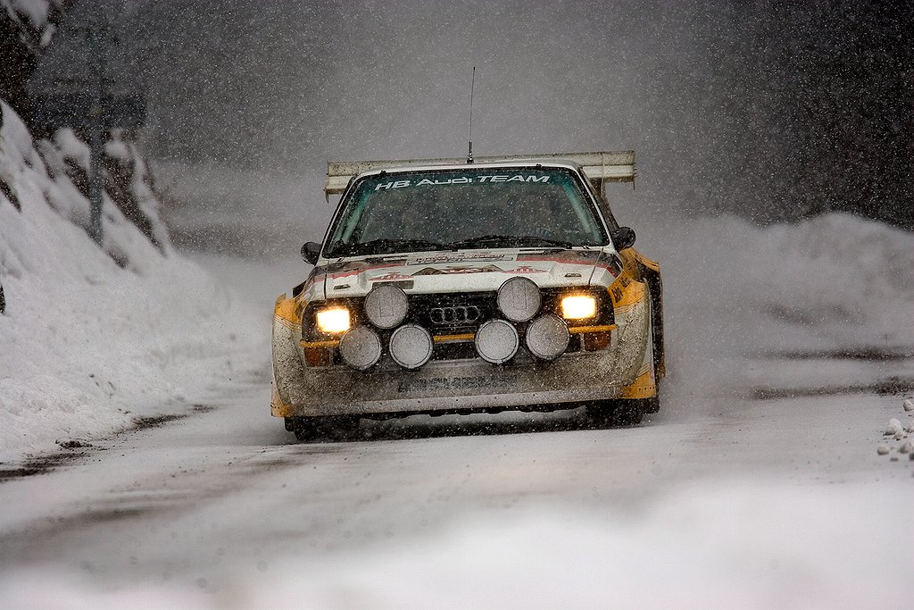 The most extrem Rallye-car: The Audi quattro Rallye S1.