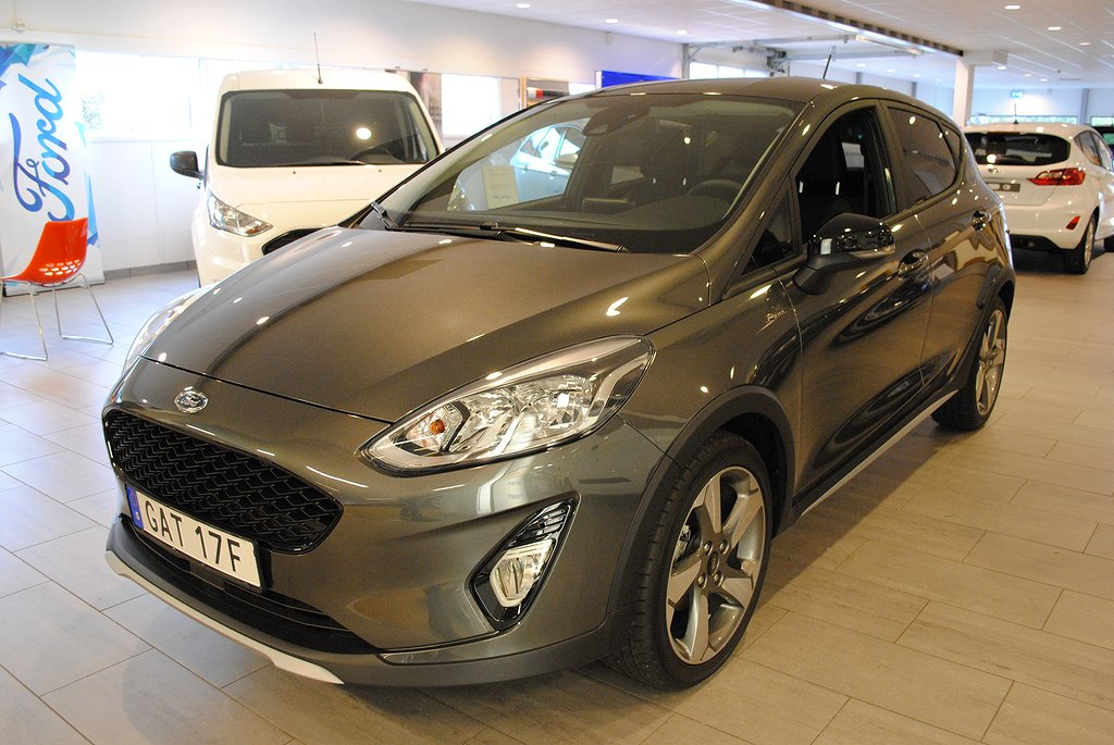 Ford Fiesta Active 1.0T EcoBoost 100hk *Demo*
