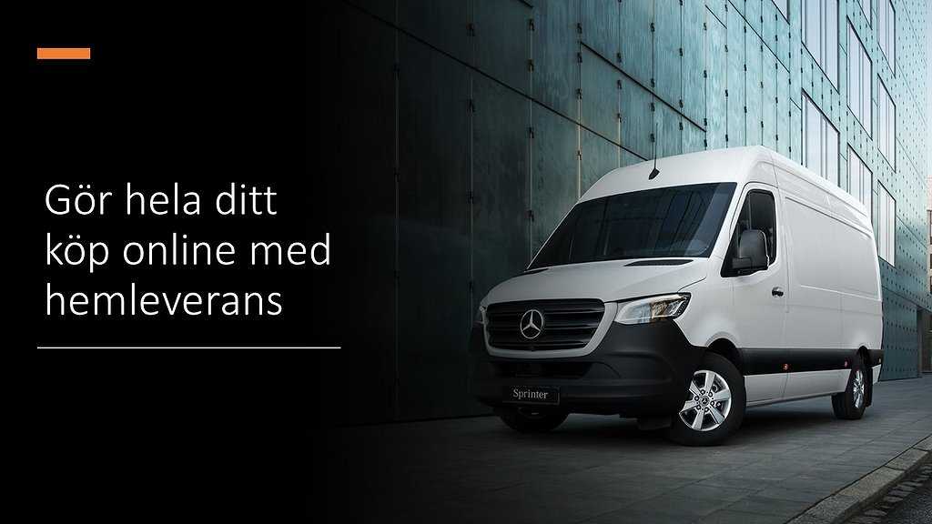 Mercedes-Benz Sprinter 211 CDI Fighter Skåp / HEMLEVERANS