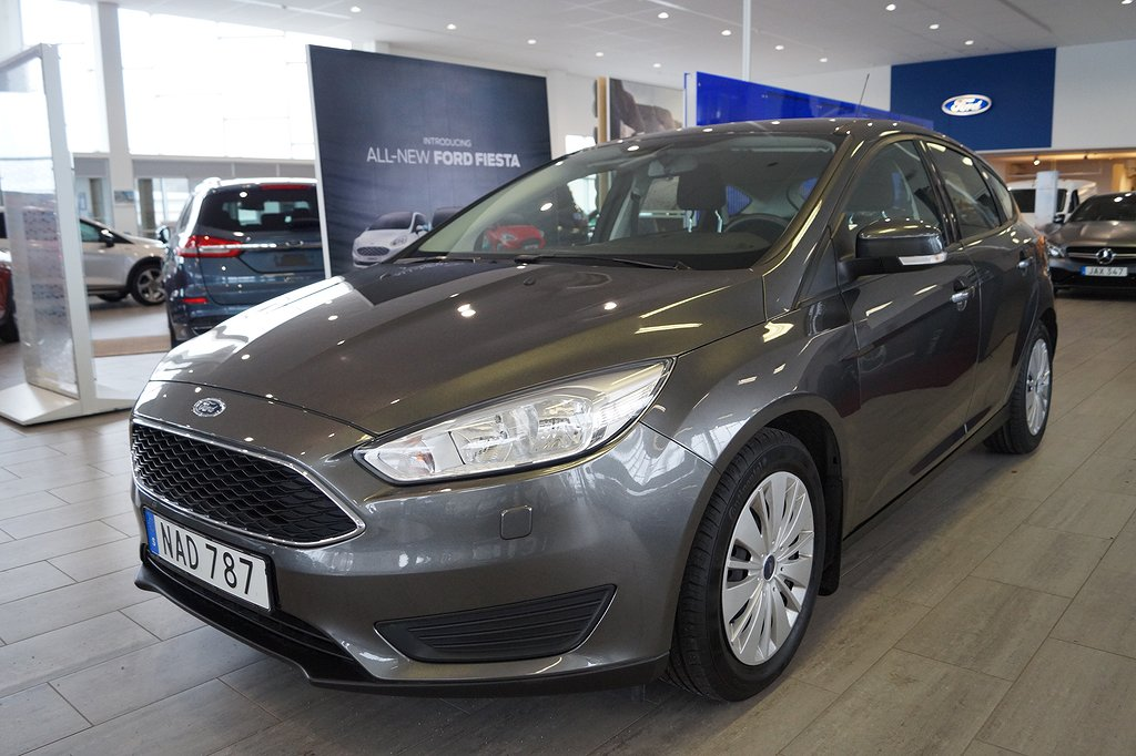 Ford Focus 1.5 TDCi Euro 6 95hk Trend, 5dr