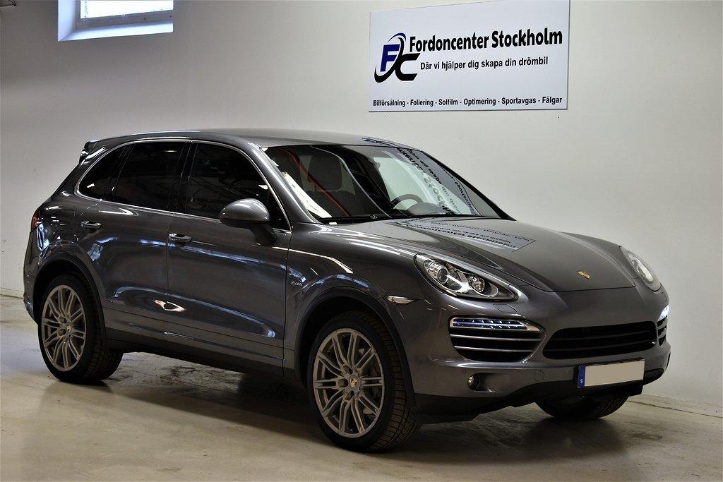 Porsche Cayenne 3,0 Diesel 245hk Svensksåld PASM Drag Navi
