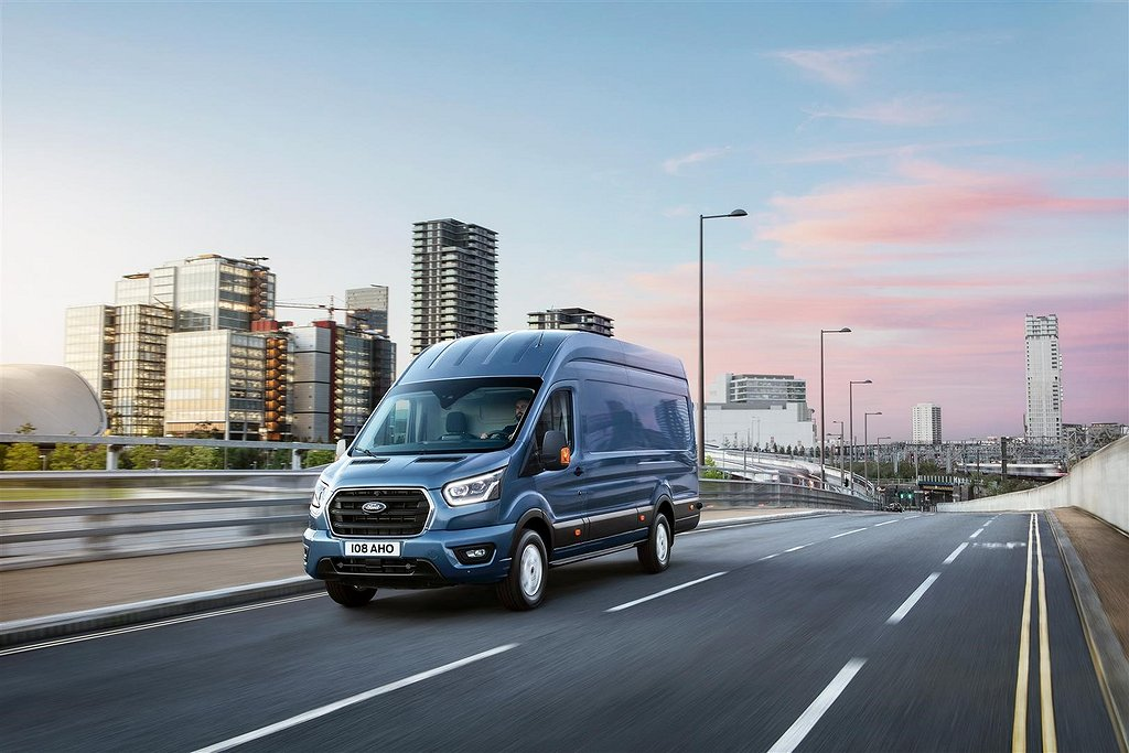 Ford Transit Skåp Limited 350 L2 2.0l Ecoblue A6 170 hk FWD 6AT