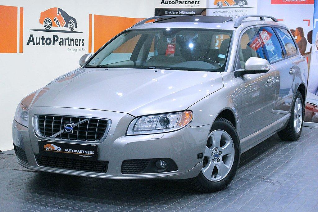 Volvo V70 2.0F Momentum 145hk TAKLUCKA UNIKT SKICK! LÅGMIL