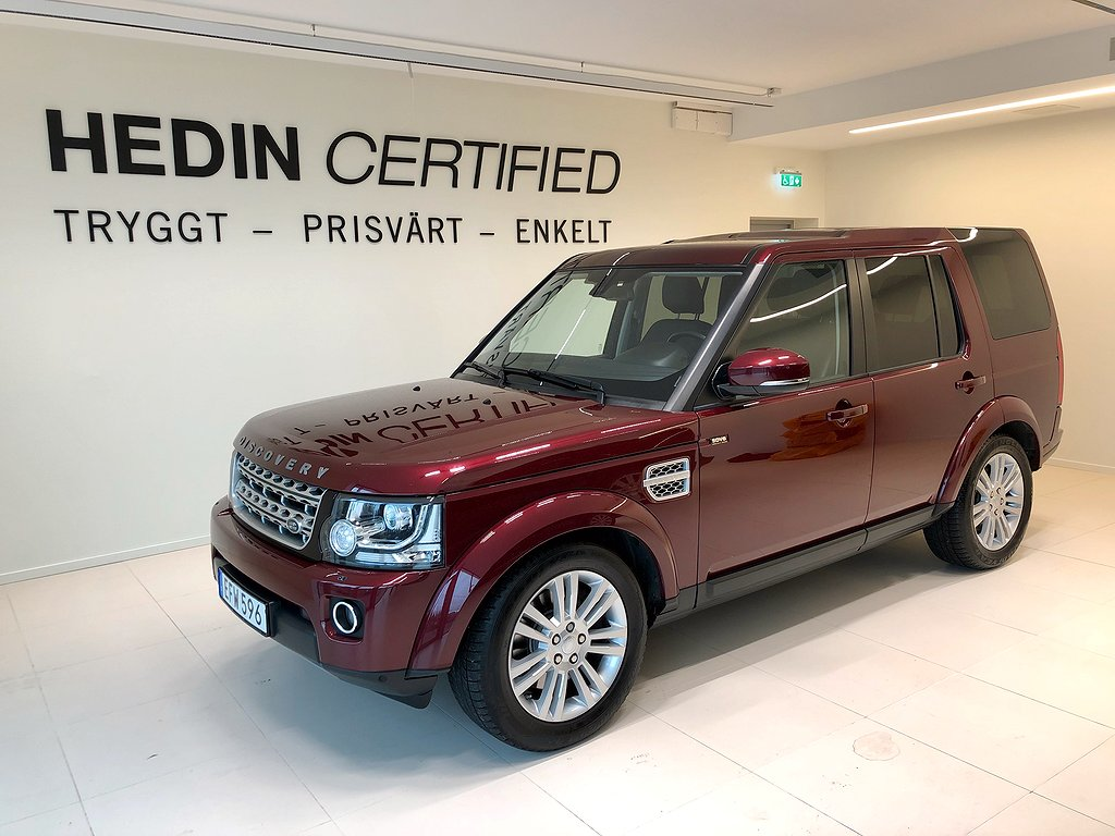 Land Rover Discovery Discovery 3.0 SDV6 4WD 256hk