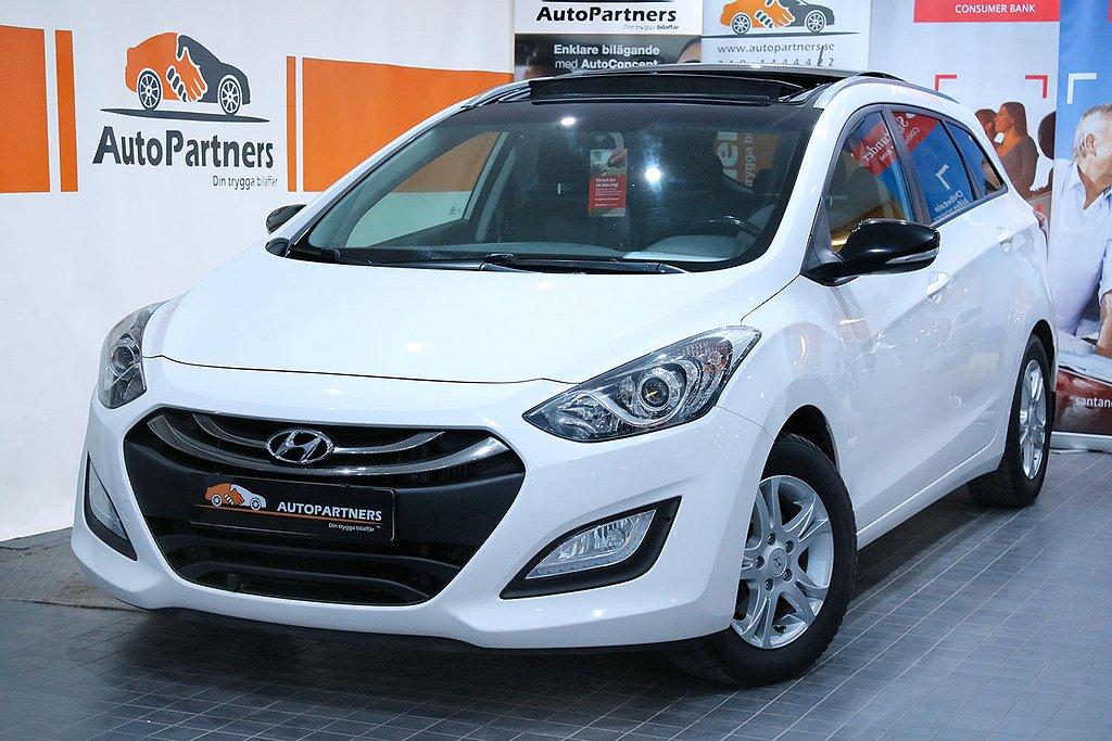 Hyundai i30 cw 1.6 CRDi PANORAMA GPS RATTVÄRME EXCLUSIVE