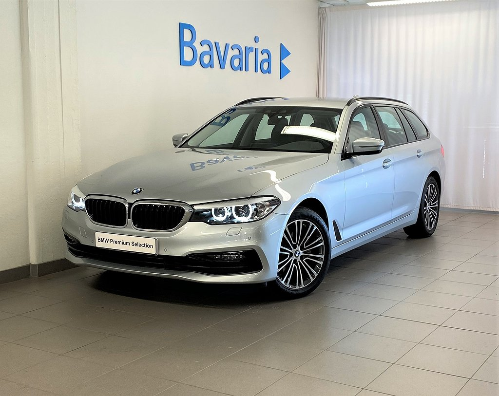 BMW 520 d xDrive Touring Sport Winter Nav Drag Nypris 559 800 Kr