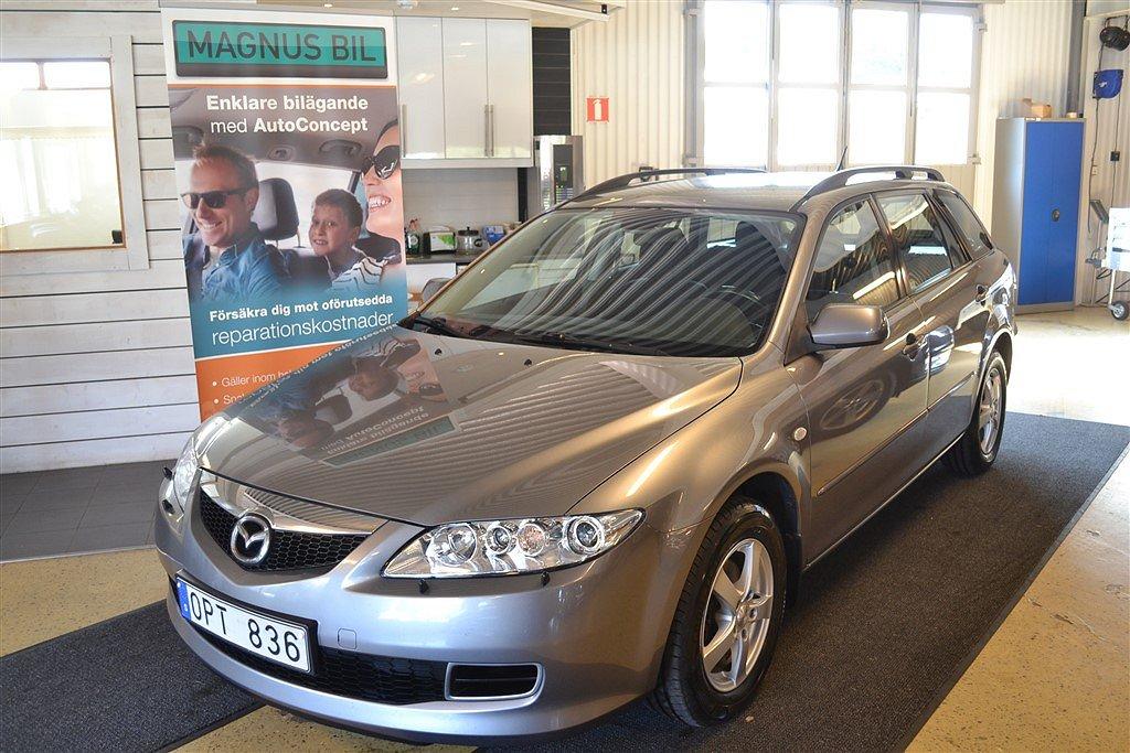 Mazda 6 2,0 Kombi (Wagon)  121hk