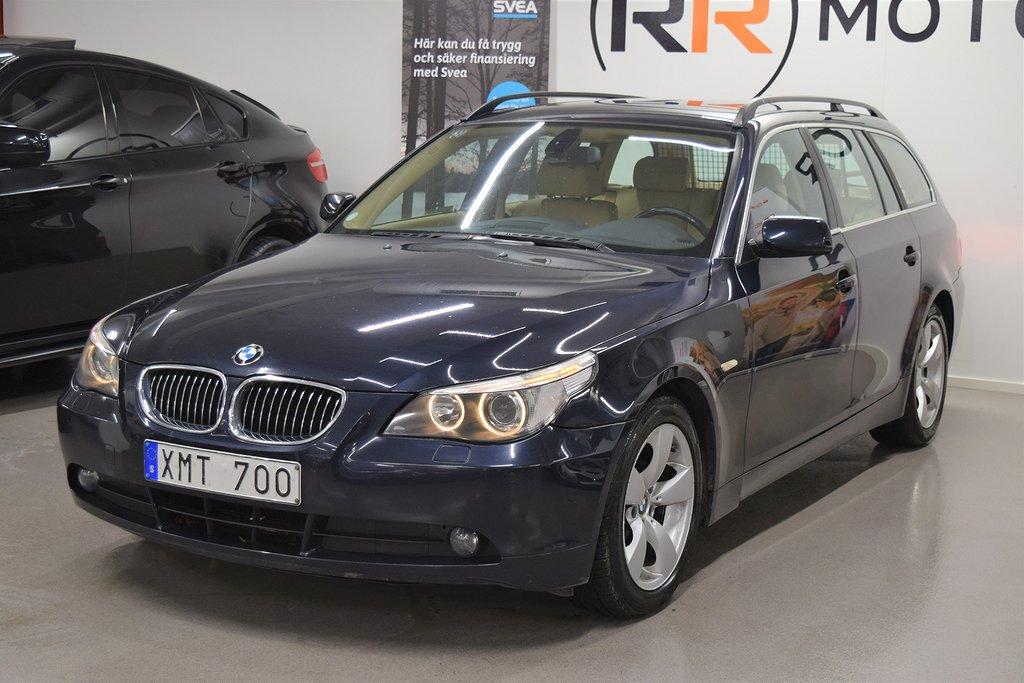 BMW 523 Automat 177hk bak/fram sensor 2 ägare