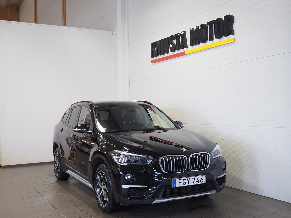 BMW X1 sDrive18d Euro 6 150hk (Drag, Backkamera) 2016