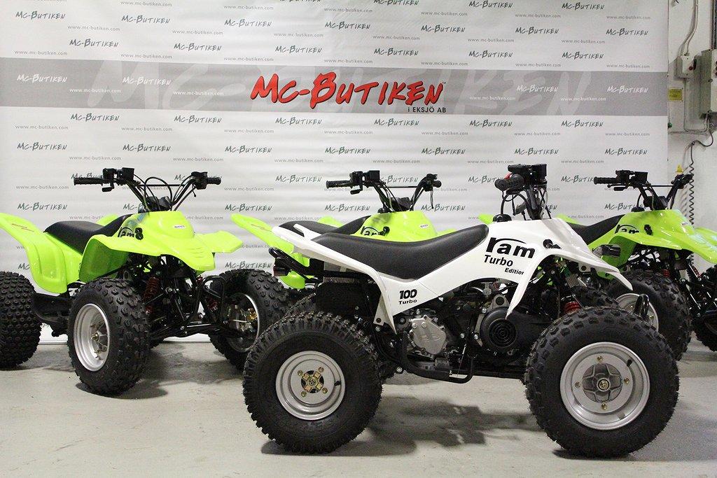SMC 100cc / Aut, back - Barnfyrhjuling