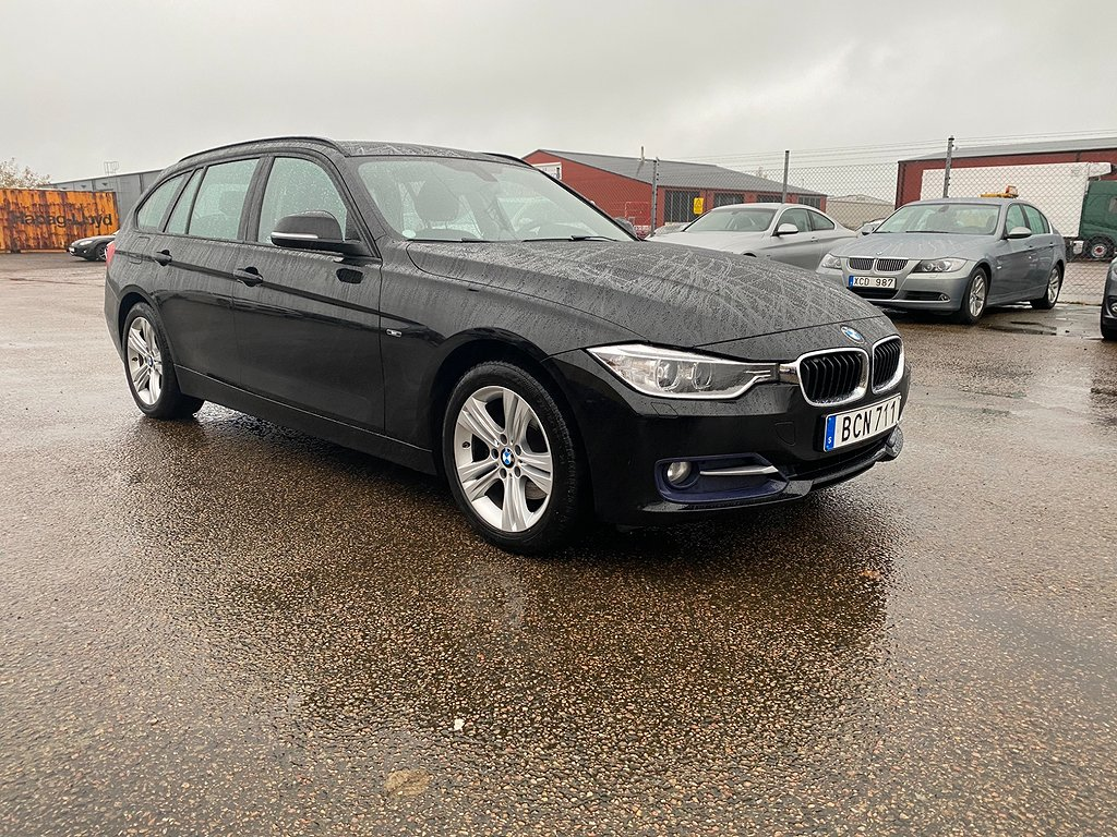 BMW 320 d Touring Steptronic Sport line 184hk