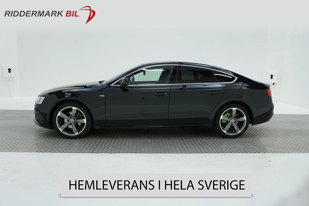 Audi A5 2.0 TDI Sportback quattro (177hk)