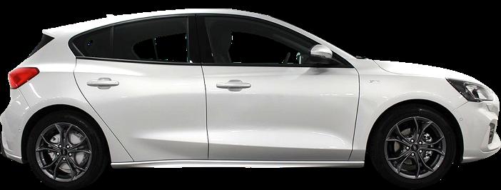 Modellbild av en Ford Focus