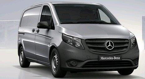 Mercedes-Benz VITO 116 4x4 Extra lång VITO 116 4-Matic SKÅP X LÅNG KAMPANJBIL