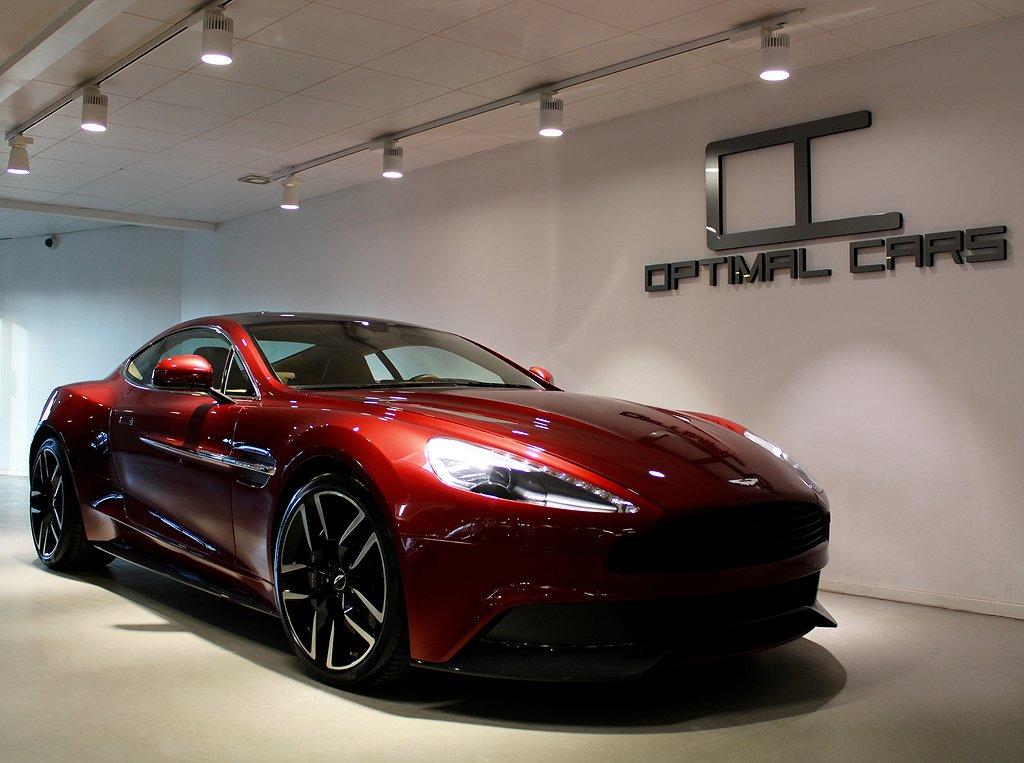Aston Martin Vanquish V12 Diavolo-Red 576HK Svsåld Carbon