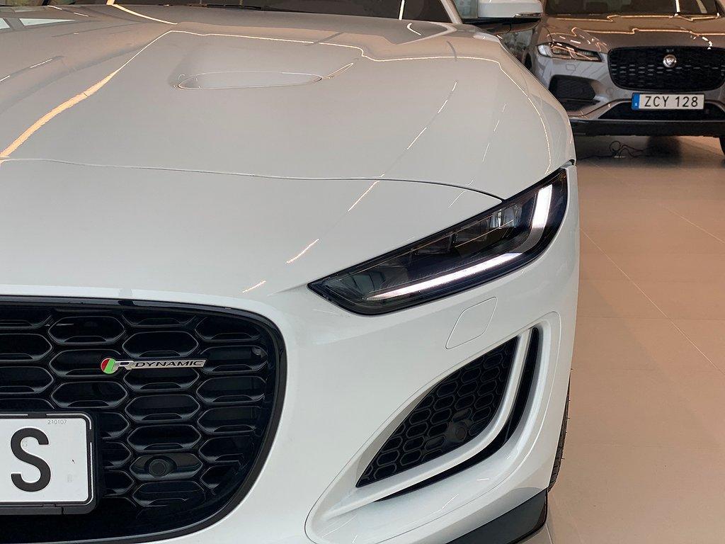 Jaguar F-Type F-TYPE 2.0 RWD COUPE SWB R-DYNAMIC 300PS AUTO