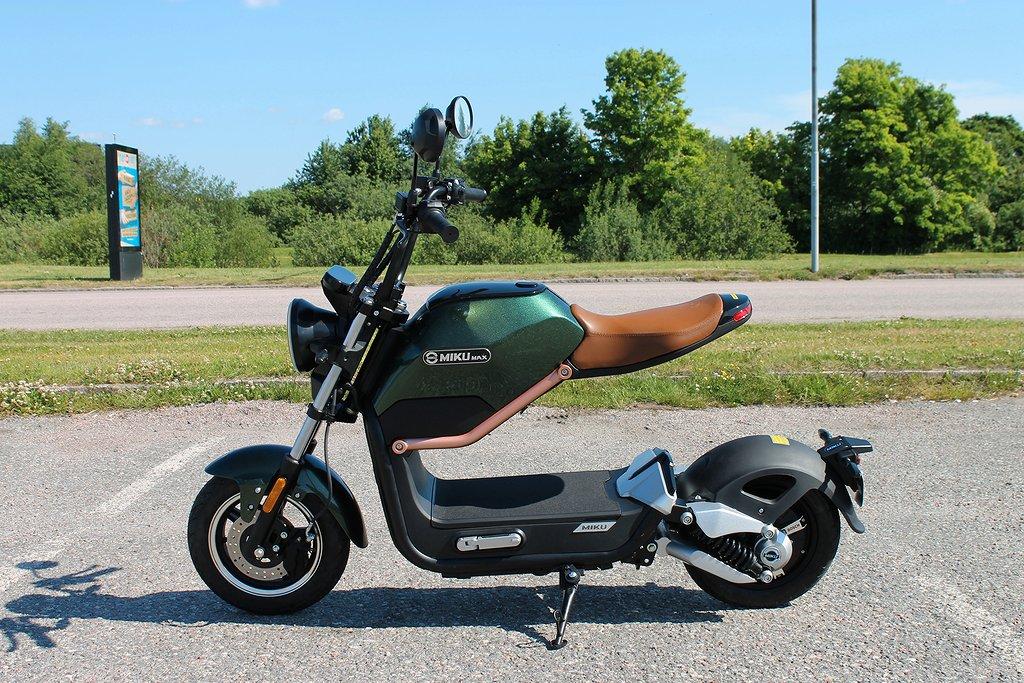 Sunra Miku Max klass 1 EU-moped 45km/h