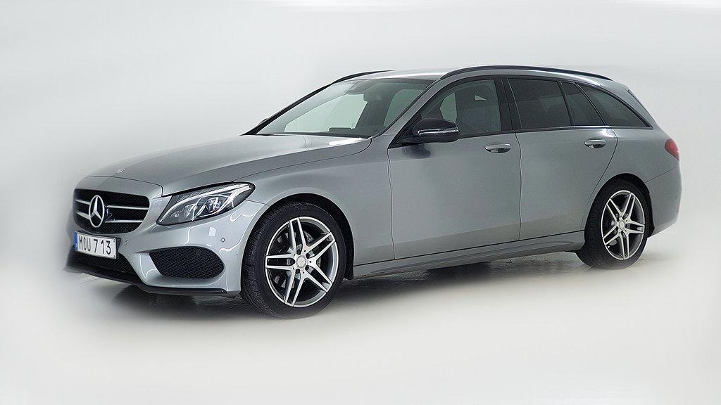 Mercedes-Benz C 220 T d 7G-Tronic Plus AMG Sport, Comfortline Euro 6 170hk