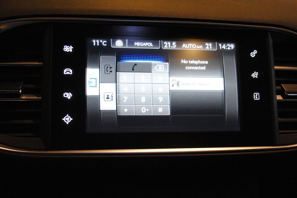 Peugeot 308 1.6T Active 125hk Sky Pack *Navi/Panorama*
