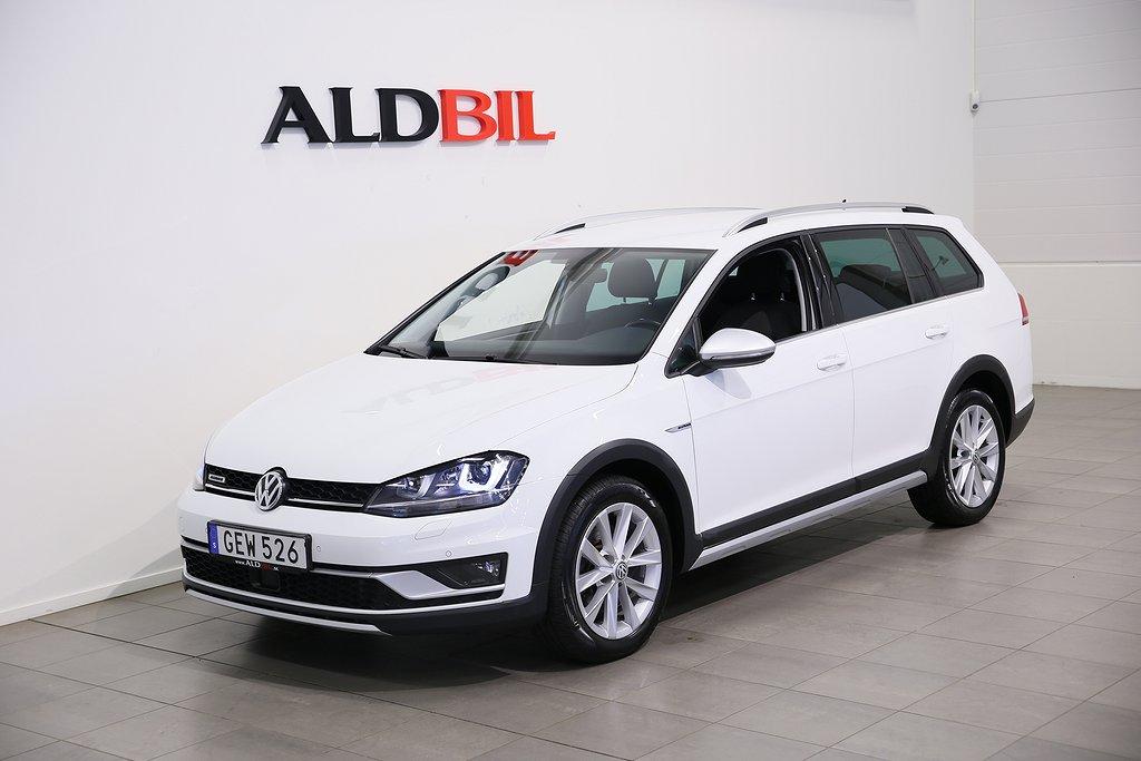 Volkswagen Golf Alltrack TDI 184hk 4M DSG - 1,99% Ränta