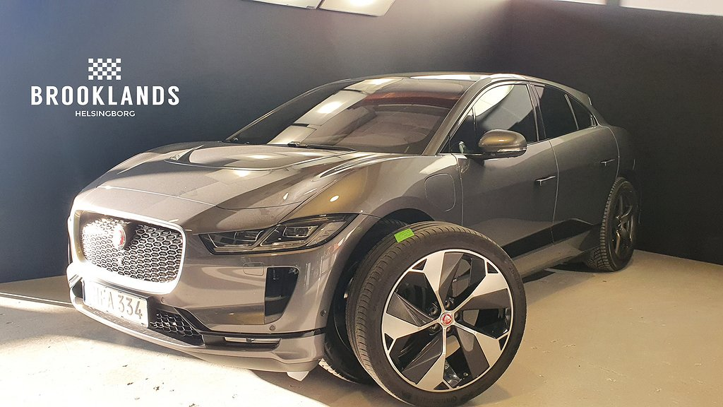 Jaguar I-Pace EV400 400hk First Edition Leasbar Svensksåld
