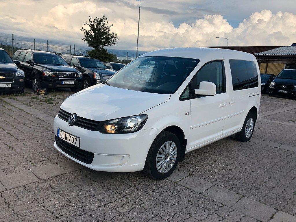 Volkswagen Caddy MPV LIFE 2.O ECOFUEL 109HK NAVI 2-ÅRS GARANTI