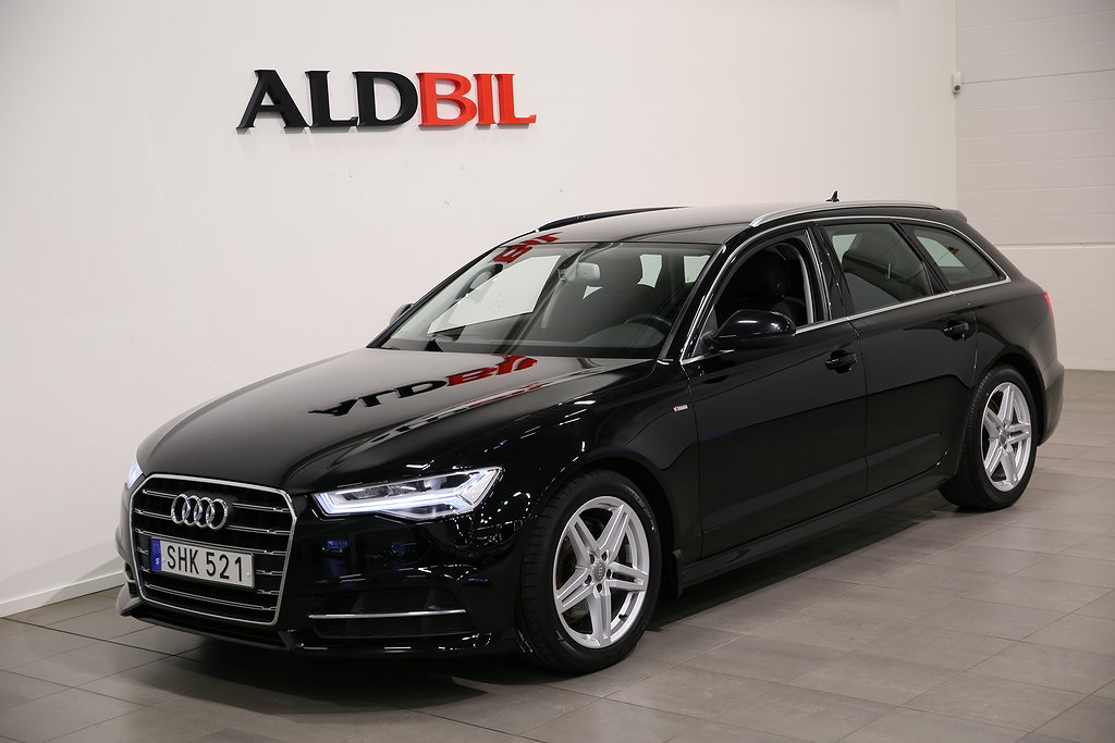 Audi A6 *KAMPANJ* TDI 190hk Ultra S-tronic S-line