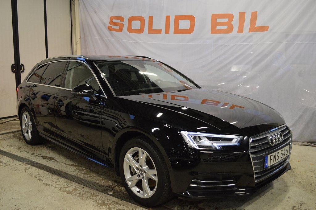 Audi A4 2.0 TDI Q/190HK/AUT/DRAG/SPORT/EU6