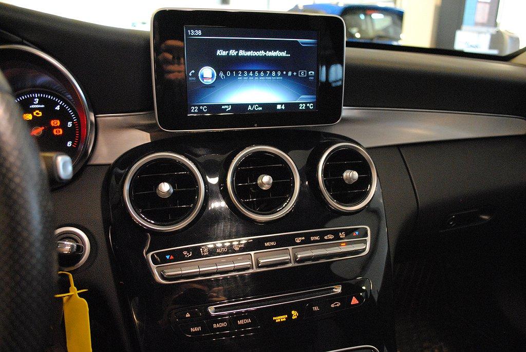 Mercedes-Benz C 220d BlueTEC 170hk Aut Kombi *Drag*