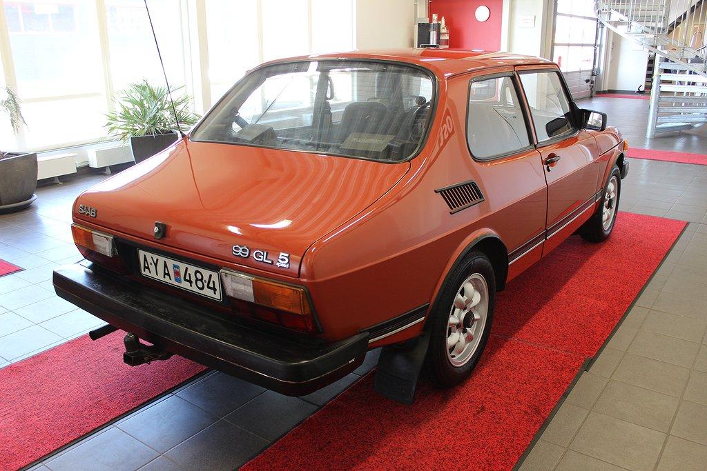 Saab 99, GL 2.0 100hk 5 vxl